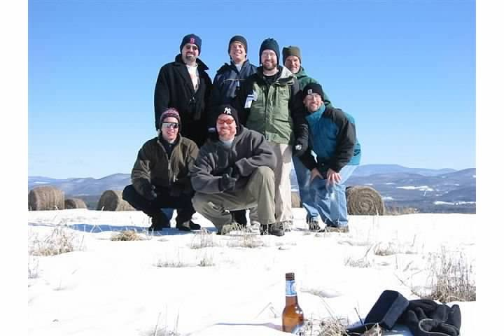 My grad school buddies gathered here to drink in The View shortly after I bought my house 12 years ago. Cold day, as I recall.